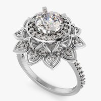 Diamond Engagement Ring S7US