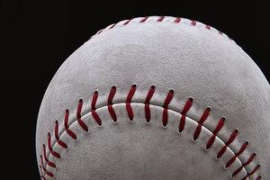 baseball balls 3D model
