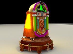 chinese jukebox 3D model