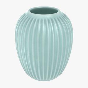 realistic hammershoi vase 04 3D model