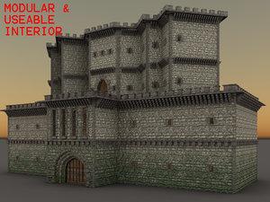 modular dungeon 3D