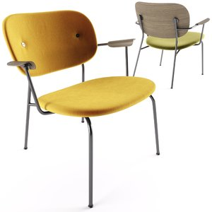norm menu lounge chair 3D model