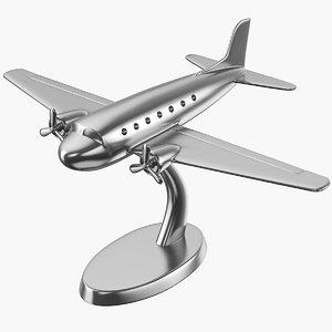 airplane decor d 3D