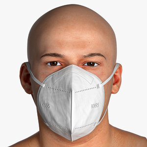 pbr marcus respiratory mask 3D