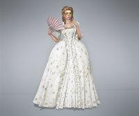 Robe A La Francaise Victorian Gown