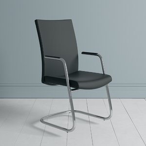 define visitor chair 3D model