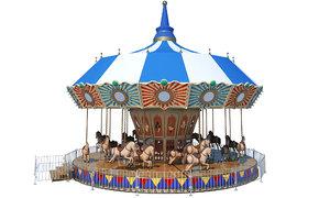 carousel toys horse model