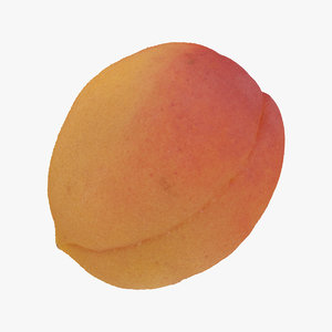 3D apricot small 01 raw
