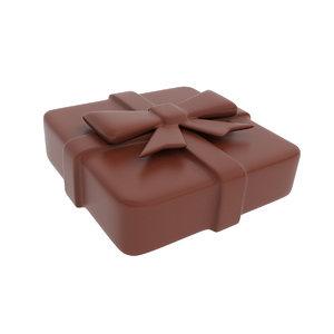 3D model present chocolate