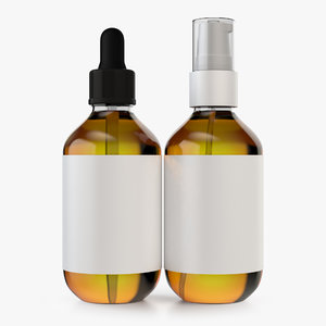 medicine spray dropper bottles model