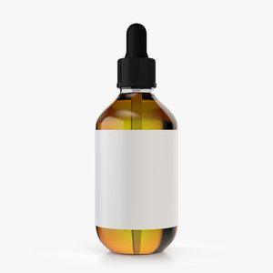 medicine dropper bottle 3D model
