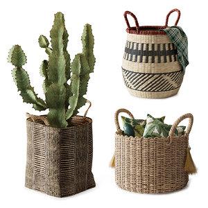 set baskets model