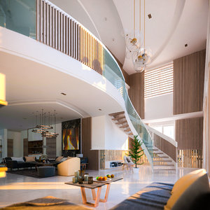 interior design daylight 3D