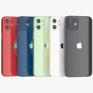 3D iphone 12 color glass