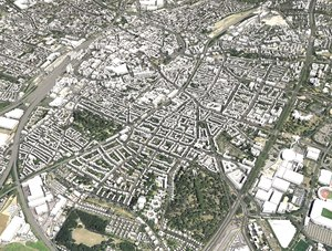 cityscape dortmund germany city 3D model