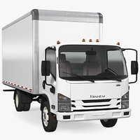 Box Truck Isuzu NPR 2018 Simple Interior