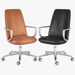 3D executive chair pedrali