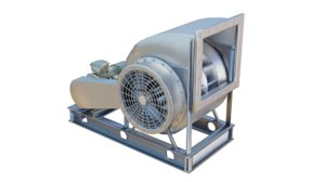 blower fan 3D model