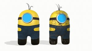 3D character style minions