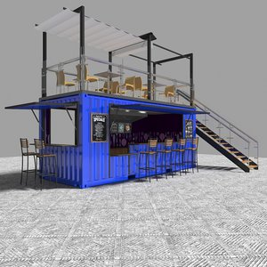 3D container bar model