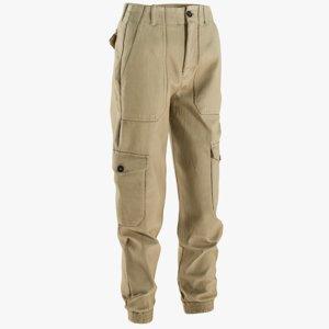 realistic women s pants 3D