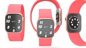 apple watch 6 red model