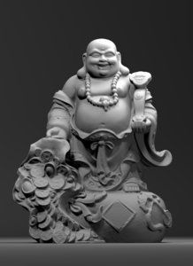3D model feng shui wealthiness