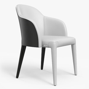 3D fendi audrey chair pbr model