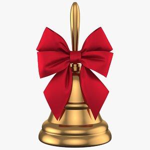 3D model christmas bell 01