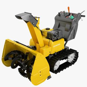 3D honda power equipment