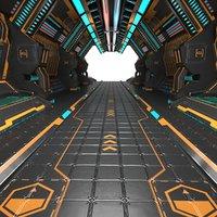 SciFi Interior Corridor 5