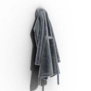 bathrobe 3D model