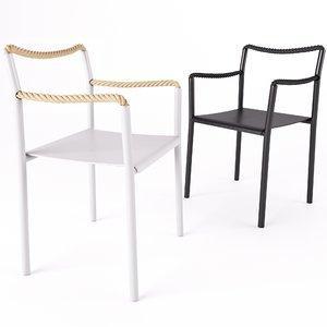 arteks rope chair 3D model