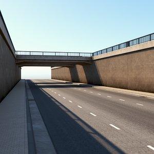 wuppertal bridge 3D model