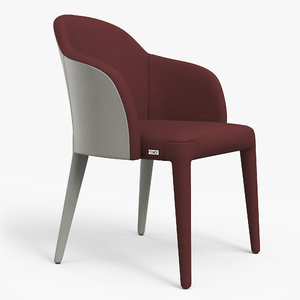 fendi audrey chair pbr 3D model