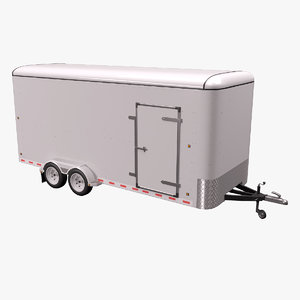cargo trailer model