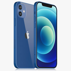 apple iphone 12 3D model