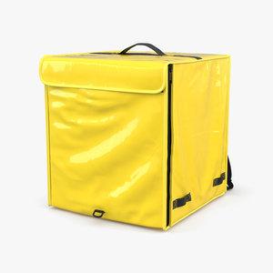 3D model food delivery bag