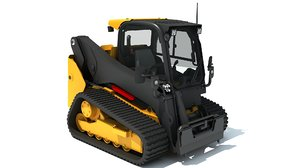 mini skid steer loader 3D model