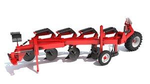 semi mounted plow model