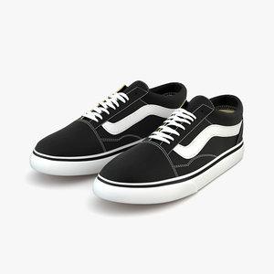 3D vans shoes