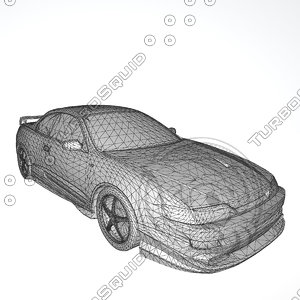 toyota curren 1994-1998 st206 3D model