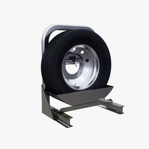 merritt e-z spare tire 3D model