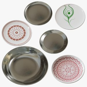 3D plates decorative ceramic