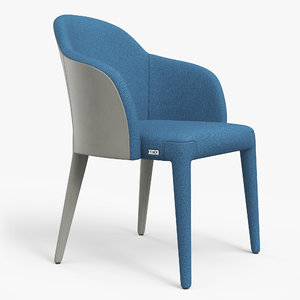 3D model fendi audrey chair pbr