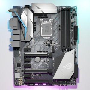 3D rog strix z370-e gaming