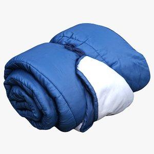 sleeping bag model