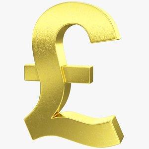 3D pound symbol