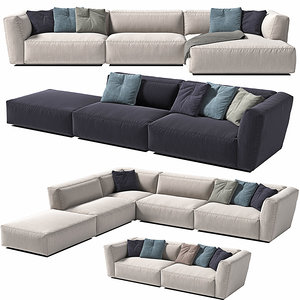 3D sofa module
