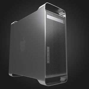 3D powermac mac model